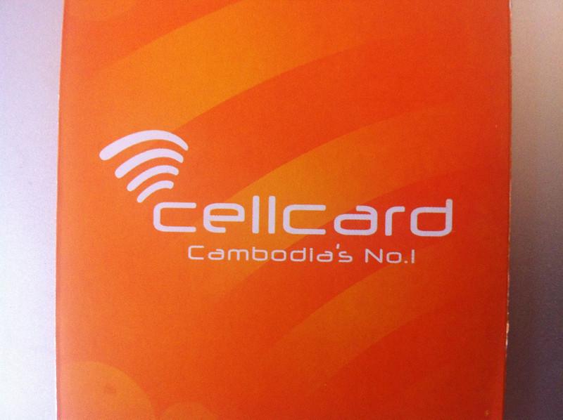 Cellcard - Cambodian telecoms company
