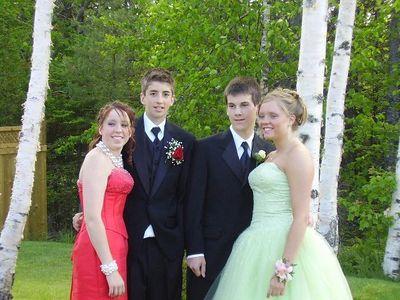 Alex's Grade 9 Prom