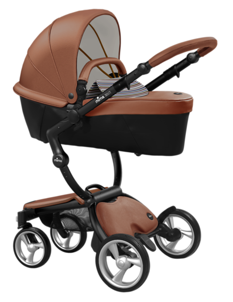 Mima_Xari_Product_Shot_Camel_Flair_Black_Chassis_Autumn_Stripes_Carrycot.png
