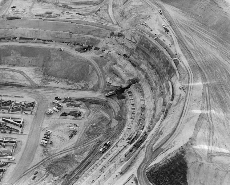 1961, Dirt Tiers for Dodger Stadium