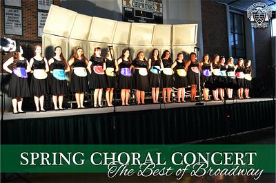 Spring Choral Concert 2014