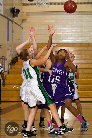 11-27-12 - Western Lutheran v Minneapolis Southwest Girls Basketball