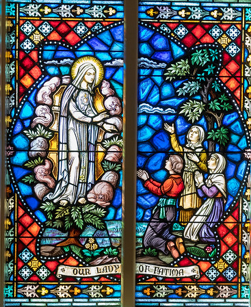 St Francis Stained Glass Windows