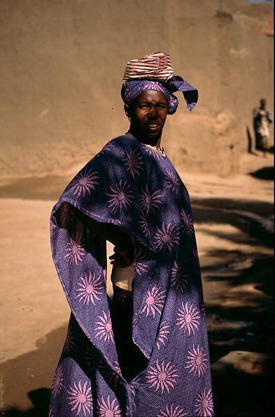 proud Djenne woman