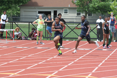 D1 Boys 4x100 Relay - 2013 MHSAA LP Track and Field