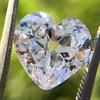 3.47ct Antique Heart Shaped Diamond GIA F SI2 9