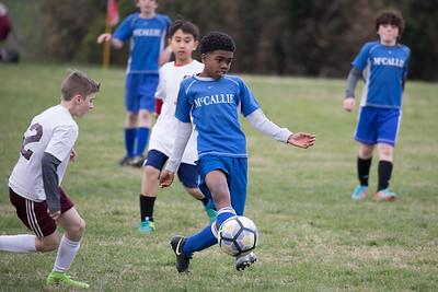 Soccer - 2018 Middle School