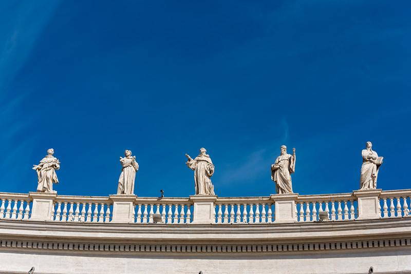 Bernini Colonnade, Rome