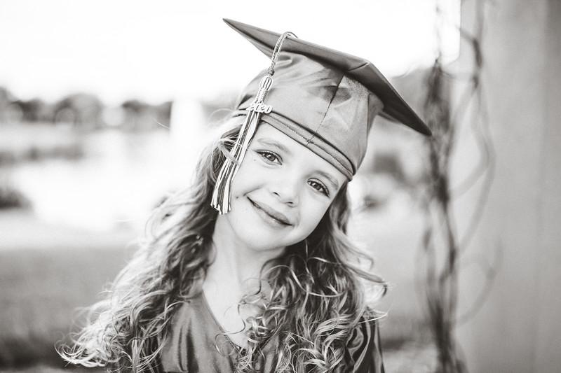 Padget Graduates From Kindergarten