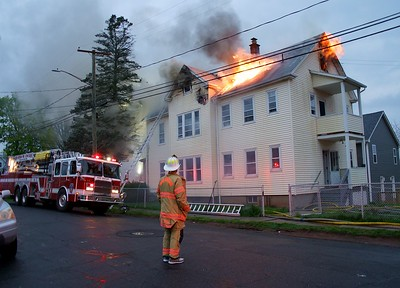 2 Alarm Structure Fire - 239 Kelsey St. New Britain, CT. - 4/29/21