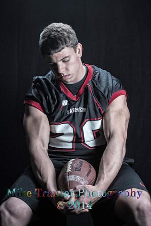 Wyatt Football Portrait