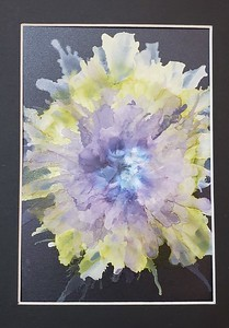 Alcohol Ink Paintings 2019-2020