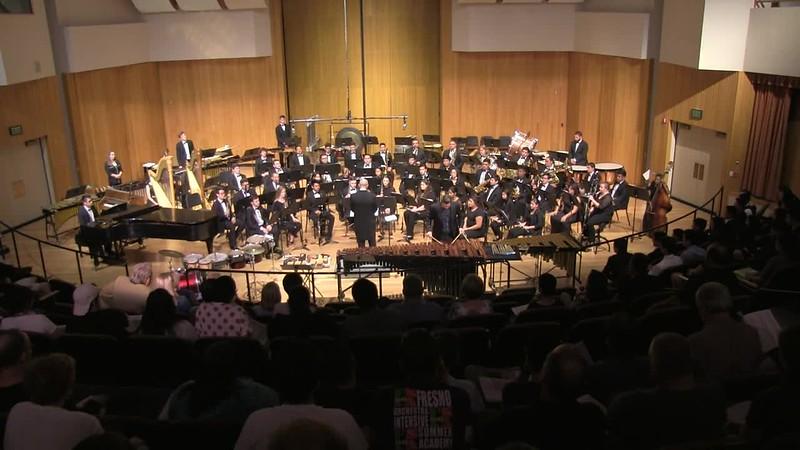Sean Clark, Percussion Soloist & Fresno State Wind Orchestra 1 of 2