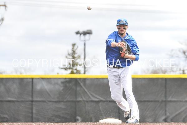 Hamilton Baseball v SUNY Brockport 4-8-17
