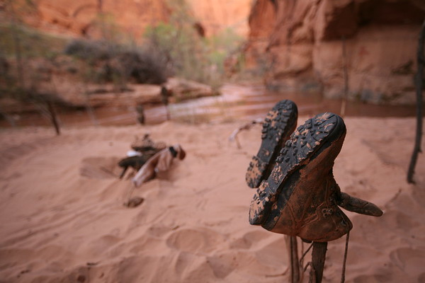 COYOTE GULCH, UT - Four days of backpacking.