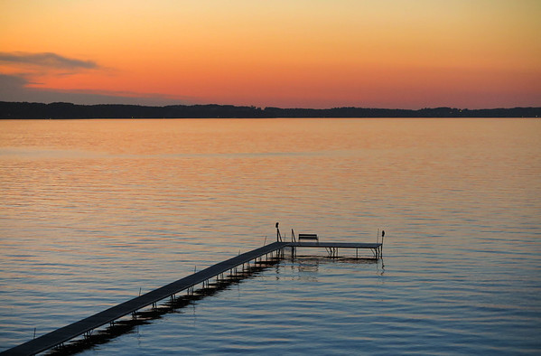 sunset Traverse Bay Dock.jpg