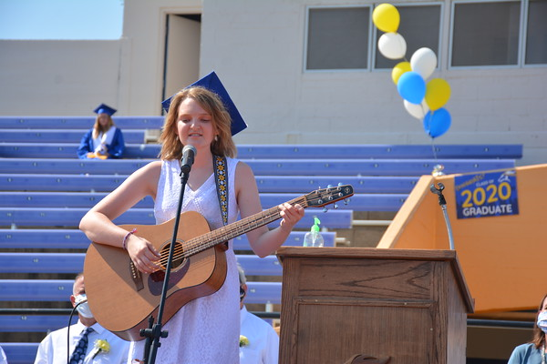 Iola High School Class of 2020 Graduation