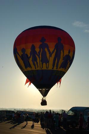 26th Annual Sunrise Community Hot Air Balloon Race Sunday