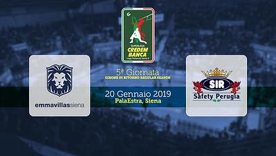 20190120 R05 Siena-Perugia