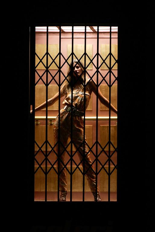 . Top model Gisele Bundchen wears a design by Colcci during the Fashion Rio Spring Summer 2007 in Rio de Janeiro, Tuesday, June 5, 2007. (AP Photo/Silvia Izquierdo)