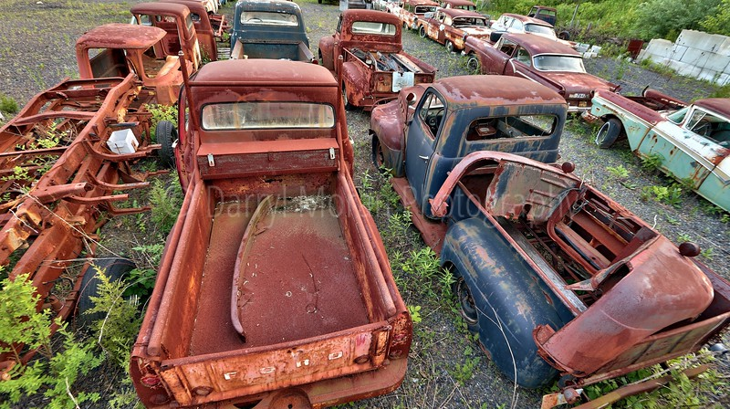 Vintage Rusty Cars and Trucks