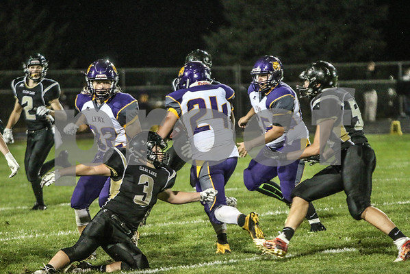 2016 Clear Lake Football vs Webster City