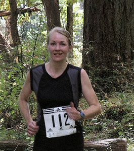 2003 Gutbuster Mount Doug - Leah Abernethy seems to be enjoying the course
