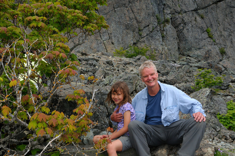 Caroline Climbs Mt. Si