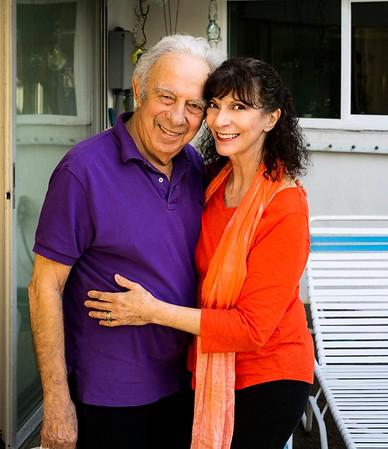 Carolyn Michel & Howard Millman w/ Morty, ARC