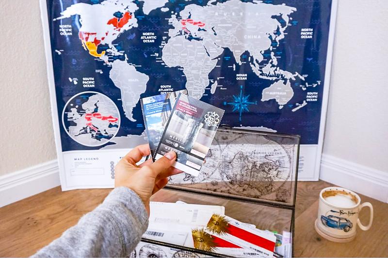receipt travel souvenir