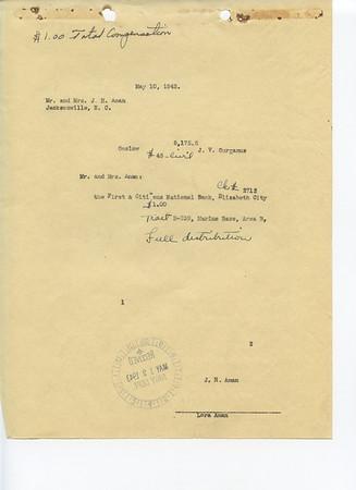 B-239 John H. Aman & State of N. C