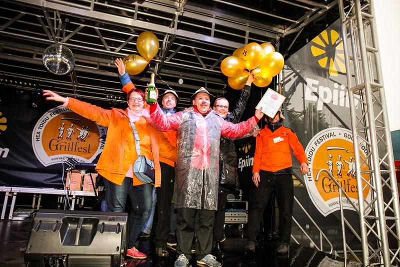 Grillfest 2016 Rahva BBQ võistlused Jungenti võisttkond