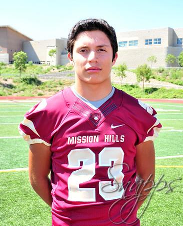 2014 David Bautista #23 Varsity