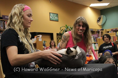 Grumpy Cat at Changing Hands Books