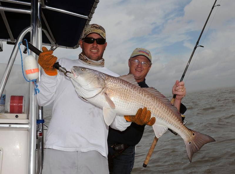 Dan Kibler and Chris Wilson Redfish 10 2009.jpg