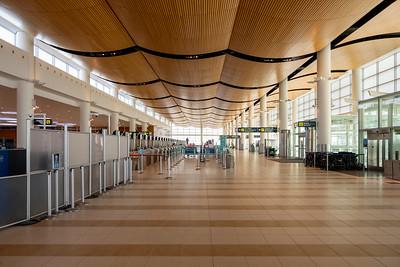 Winnipeg Airport - COVID 19 March 28, 2020