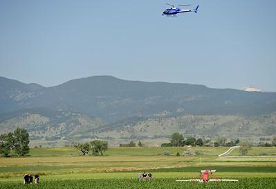 Photos: Single Engine Plane Crash Near Longmont