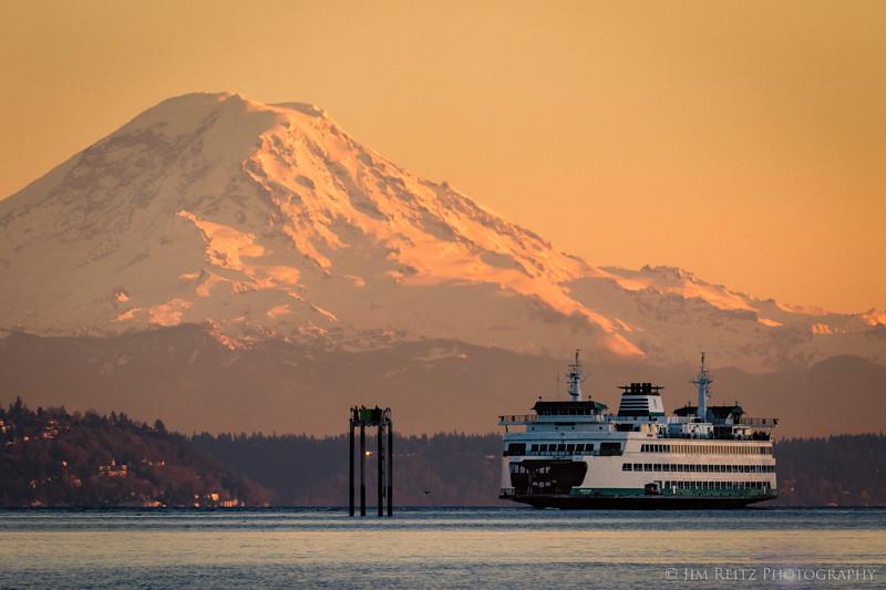 Ferry vs. Mountain...