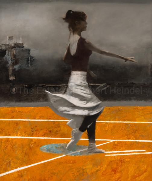 White Skirt, Yellow Floor (2005)