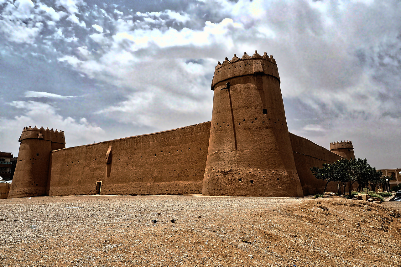 Masmak Fort in Dirah, Riyadh