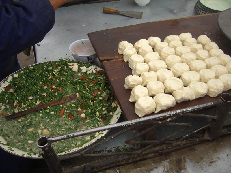 Preparing Dumplings - Kashgar, China