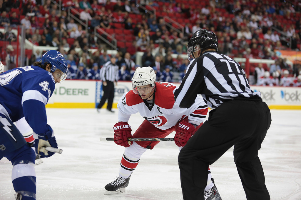 NHL 2013 - November - Carolina Hurricanes vs Tampa Bay Lightnings