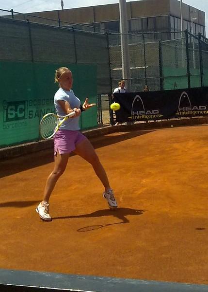 Svetlana Kuznetsova (close up) at Sanchez-Casal Academy