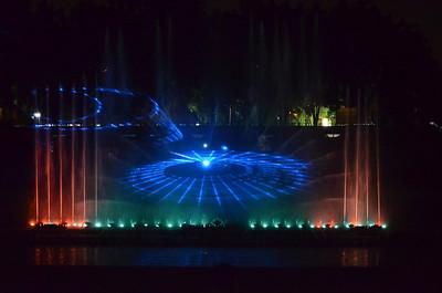 Laser Show At Lumbini Park