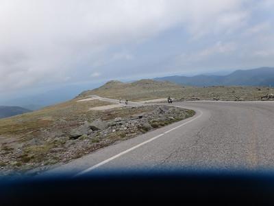 Mount Wahsington bike day 2012