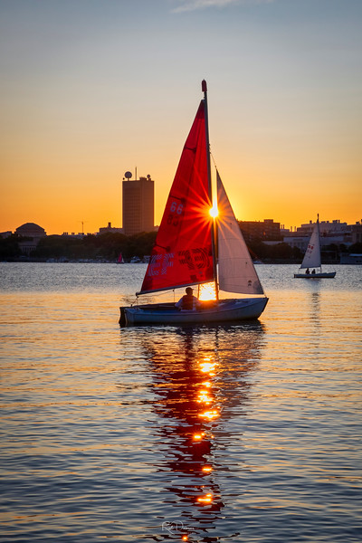 Sailing on the Charles RIver I