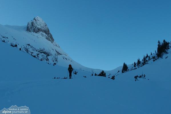 Windecksattel ski tour 2011-12-27