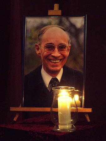 Beerdigung von Edgar Thelen am 3. Februar 2014