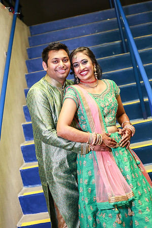 BHAVINI AND VIVEK RAAS GARBA 2