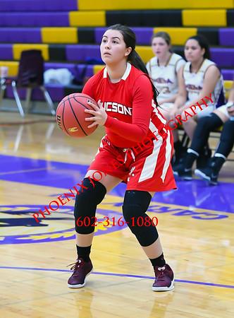 12-1-2017 - Tucson High Magnet School @ Mesa - JV Basketball